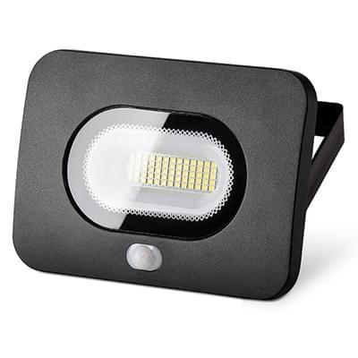 Светодиодный прожектор с датчиком движения и освещенности